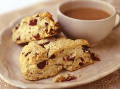 Buttermilk Pecan Cranberry Scones  Or substitute walnuts and apricots if you prefer YUM!