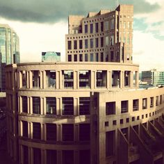 Love this building. You may have seen it in a few TV shows and movies too: Vancouver Public Library