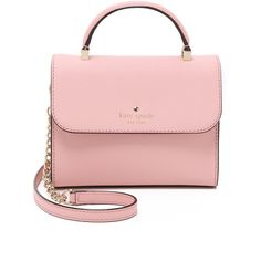 Kate Spade New York Mini Nora Cross Body Bag (740 AED) ❤ liked on Polyvore  featuring bags, handbags, shoulder bags, rose jade, mini crossbody, ... 622907d98a