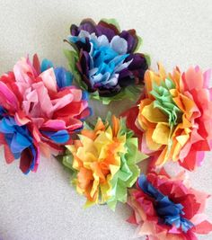 Gift Wrap Pom Poms tissue package toppers