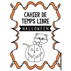 Cahier de temps libre pour Halloween (1er cycle)