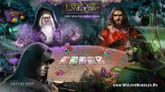 You can choose a favorite character: Wizard, Paladin, Assassin, Druid or Monk. The game for each character will be different. Poker Games, Paladin, Assassin, Lord, Artwork, Movie Posters, Character, Work Of Art, Auguste Rodin Artwork