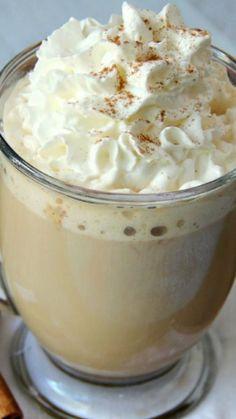 Slow-Cooker Pumpkin Latte ~ Make your favorite fall beverage in your slow cooker!