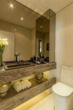 Great bathroom counter design, for hall bathroom, guest bathroom