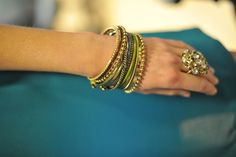 @LiveFromBangla bangles and big rings.  #spring #fashion #accessories