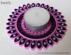 Afbeeldingsresultaat voor pinterest + quilling 3d candle holders