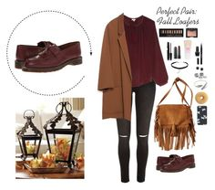 """""""Perfect Pair: Fall Loafers"""" by liz-poiriet ❤ liked on Polyvore featuring moda, Dr. Martens, River Island, Talitha, American Eagle Outfitters, Marc by Marc Jacobs, Zara, H&M, Topshop y Mark Broumand"""