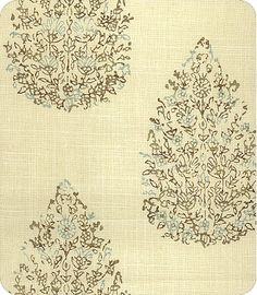 """$29.98 John Robshaw Collection, online fabric, lewis and sheron, lsfabrics  John RobshawNaturalsPrintsStyleDedara 21040Color 680 Aqua/Cocoa Item ID1110827Repeat9""""Width54""""ContentNot ProvidedPrice$29.98 per yard This Item is Back-Ordered! Est. Arrival: September 16, 2013"""