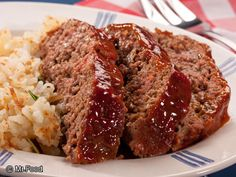 Down Home Meatloaf - A comfort food classic, this easy ground beef dinner recipe is sure to be a hit with everyone in the family. Feel free to substitute the ground beef for ground turkey if you're looking for a lighter option!