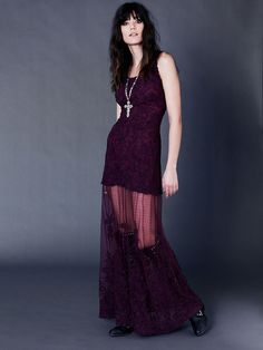 OBSESSED OMGGGGGG AND THIS COLOR <3    Free People Stella Maxi Dress, $298.00