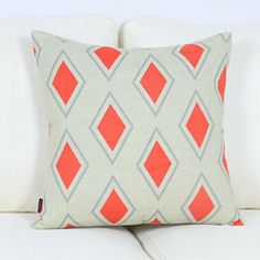 Modern Nordic geometric throw pillow for couch 18 inch rhombic sofa cushions