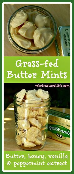 Add more healthy fats to your diet with these easy butter mints. Made with grass-fed butter, theyre a delicious way to eat more nutrient-rich butter! High Carb Foods, No Carb Diets, Low Carb, Cobbler, Whole Food Recipes, Dessert Recipes, Candy Recipes, Yummy Recipes, Cookie Recipes