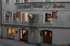 Altstadthotel Weisse Taube - Salzburg Salzburg, Austria, Places Ive Been, Italy, Mansions, House Styles, Travel Ideas, Hotels, Old Town