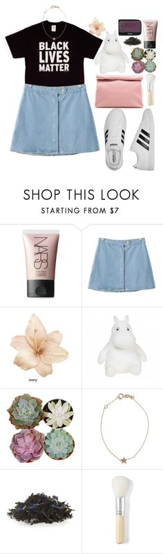 """My Undying Love for Plants:"" by karris-thomson ❤ liked on Polyvore featuring NARS Cosmetics, Chicnova Fashion, Kismet, Marie Turnor, TWG Tea Company, Bare Escentuals and adidas"