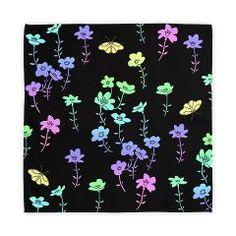 Flowers #6, Rainbow Cloth Napkins  Cloth Napkins  Ornaart