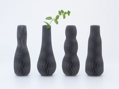 Don't limit yourself to just one of Zampik's gorgeous vases. Set aside some time and print them all. http://thingiverse.com/thing:390713