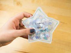 DIY Anleitung: Konfettistern selber nähen // diy tutorial: Confetti star sewing tutorial via DaWanda.com