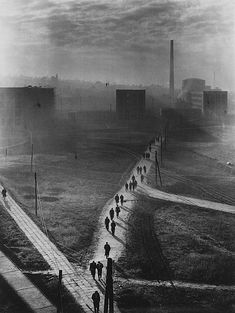 Erno Vadas, Factory, 1955 silver print Courtesy of Vintage Gallery, Budapest - so depressing & reminds me of my life in communism