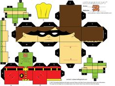 Baixe mais de 20 caixas para lembracinhas Super Heróis MARVEL