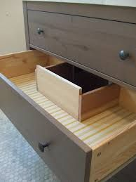 under sink counter cut away drawer - Google Search