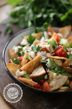 Fettiness Salad - Kitchen Secrets - Practical Recipes - Delicious Meets Healthy: Quick and Healthy Wholesome Recipes Turkish Recipes, Ethnic Recipes, Homemade Beauty Products, Pasta Salad, Potato Salad, Salad Recipes, Food And Drink, Veggies, Health Fitness