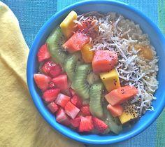"""Pina """"Quinoa-da"""" Breakfast Pudding Bowl"""