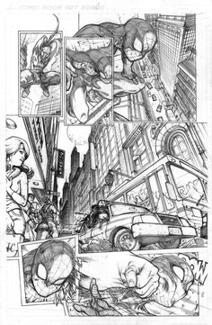 SPIDEY TEST PAGE 1 by biroons