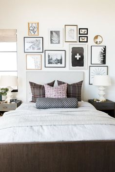 How to Decorate the Area Above your Bed | Studio McGee
