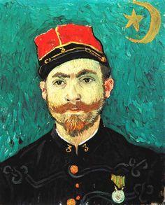 Vincent Van Gogh - Post Impressionism - Arles - Portrait de Paul Eugène Milliet