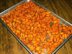 Shel's Kitchen: Chili Roasted Sweet Potatoes
