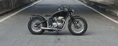 Honda CB650 Bobber by Zife Design #motorcycles #bobber #motos | caferacerpasion.com