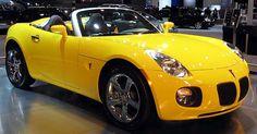 My Dream Car, Dream Cars, 2007 Pontiac Solstice, Saturn Sky, Pontiac Cars, Hot Cars, Corvette, Convertible, Automobile