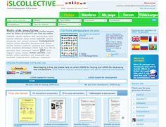 1500 Fiches pédagogiques FLE gratuites. Longue vie au site iSL Collective !