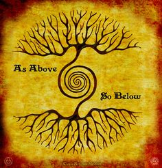 """Qualquer árvore que queira tocar os céus precisa de ter raízes tão profundas a ponto de tocar os infernos"""" ~ Carl Gustav Jung"""