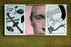 """Marcus Connor, Ficciones Typografika 199-201 (24""""x36""""). Installed on January 20, 2014. More: http://ficciones-typografika.tumblr.com/"""