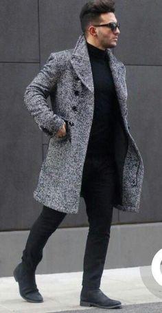 23 Dashing Winter Fashion Outfits Ideas For Men The weather outsid. - 23 Dashing Winter Fashion Outfits Ideas For Men The weather outside is getting frig - Mens Fashion Blog, Fashion Mode, Fashion Ideas, Fashion Trends, Style Fashion, Fashion Shoes, Work Fashion, Trendy Fashion, Fashion Inspiration