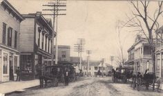 Bay Street, looking west, downtown, late 1800s/early 1900s