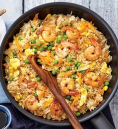 No Salt Recipes, Paella, Fried Rice, Healthy Recipes, Healthy Food, Fries, Food And Drink, Cooking, Ethnic Recipes