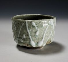 Haiyū Sansai Tea Ceremony Bowl by Ikai Yūichi: click to enlarge