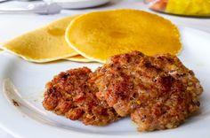 Sausage and pancakes Tranquilo Lodge Drake Bay, Osa Peninsula Costa Rica #fishing #travel #vacation #food