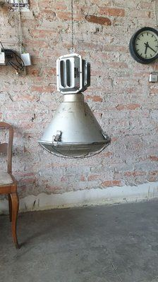 Vintage Industrial Pendant Lamp from Mesko, 1990's for sale at Pamono Industrial Ceiling Lights, Professional Electrician, Design Show, Vintage Industrial, Pendant Lamp, 1990s, Vintage Designs, Vintage Items, Restoration