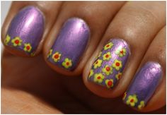 Simple+Freehand+Nail+Designs | 50 Amazing Nail Art Designs For Beginners With Pictures And Styping ...