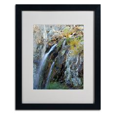 Flows by CATeyes Matted Framed Painting Print