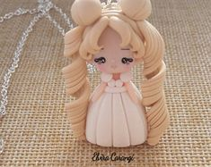 Preorder Serenity necklace,fanart, handmade, polymer clay,crafts, chibi