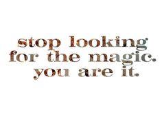 I AM magic!