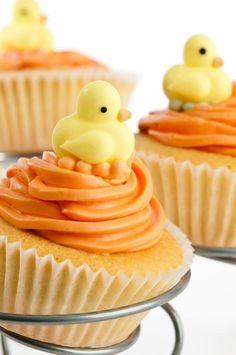 Ducky Cupcakes!!!:)