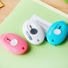 Free shipping deli 2050 mini candy color utility-knife Small utility knife for mini cutter letter opener