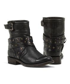 Black Star Boots in Black
