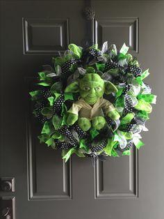 Star Wars Yoda Wreath