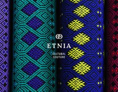 Etnia, as the Spanish word for ethnic, is a fashion brand that merges luxury and. Etnia, as the Spanish word for ethnic, is a fashion brand that mer. Graphic Design Projects, Graphic Design Branding, Business Inspiration, Logo Design Inspiration, Mexican Graphic Design, Mexican Fashion, Fashion Branding, Textures Patterns, Logos